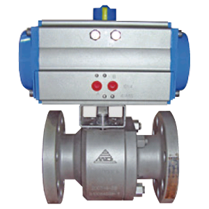 Pneumatic Actuated Fire Safe Trunnion Mounted Ball Valves MD-64 DA SR