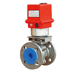 Electric Actuated Flanged Ball Valves