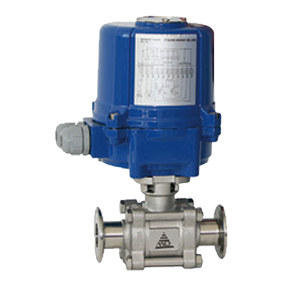 Electric Actuated Sanitary Ball Valves