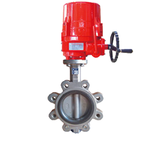 Electric Actuated Centric Butterfly Valves VF-765