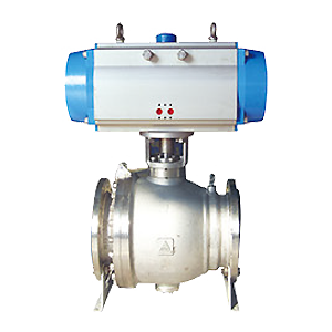 Two-way flange ball valve