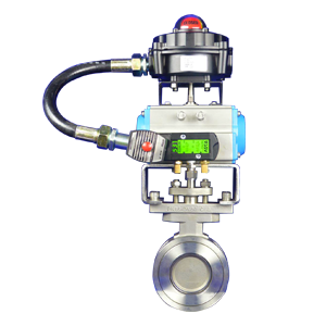 Pneumatic-Control-Butterfly-Valves